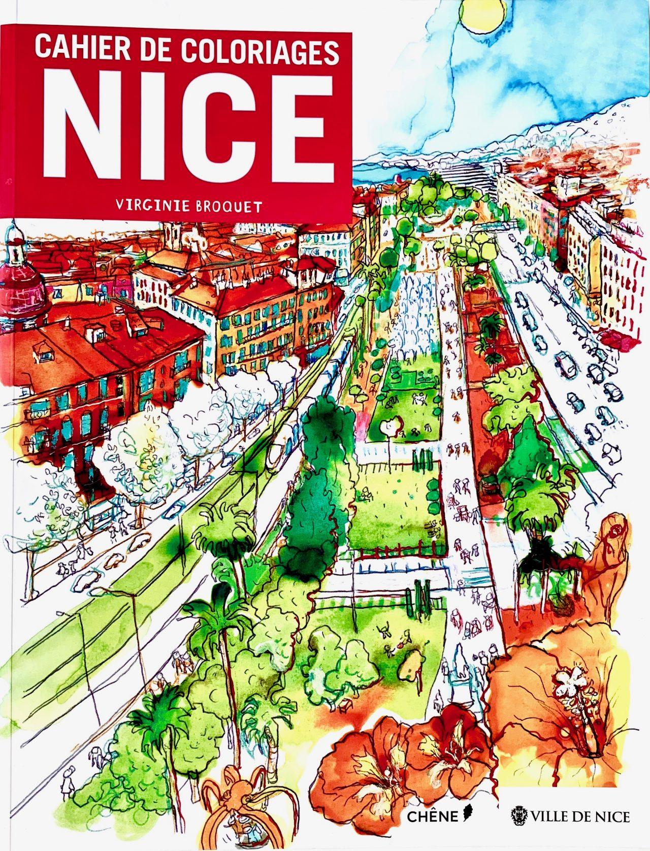 11 Cahier de coloriages Nice, éditions du Chêne, 2015
