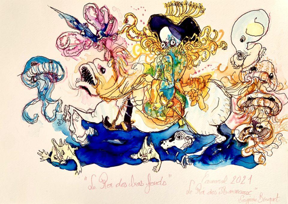 22 Carnaval de Nice, le Roi des Bas fonds, 2020