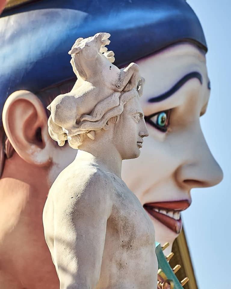 3 Roi du cinéma, Carnaval de Nice, 2019
