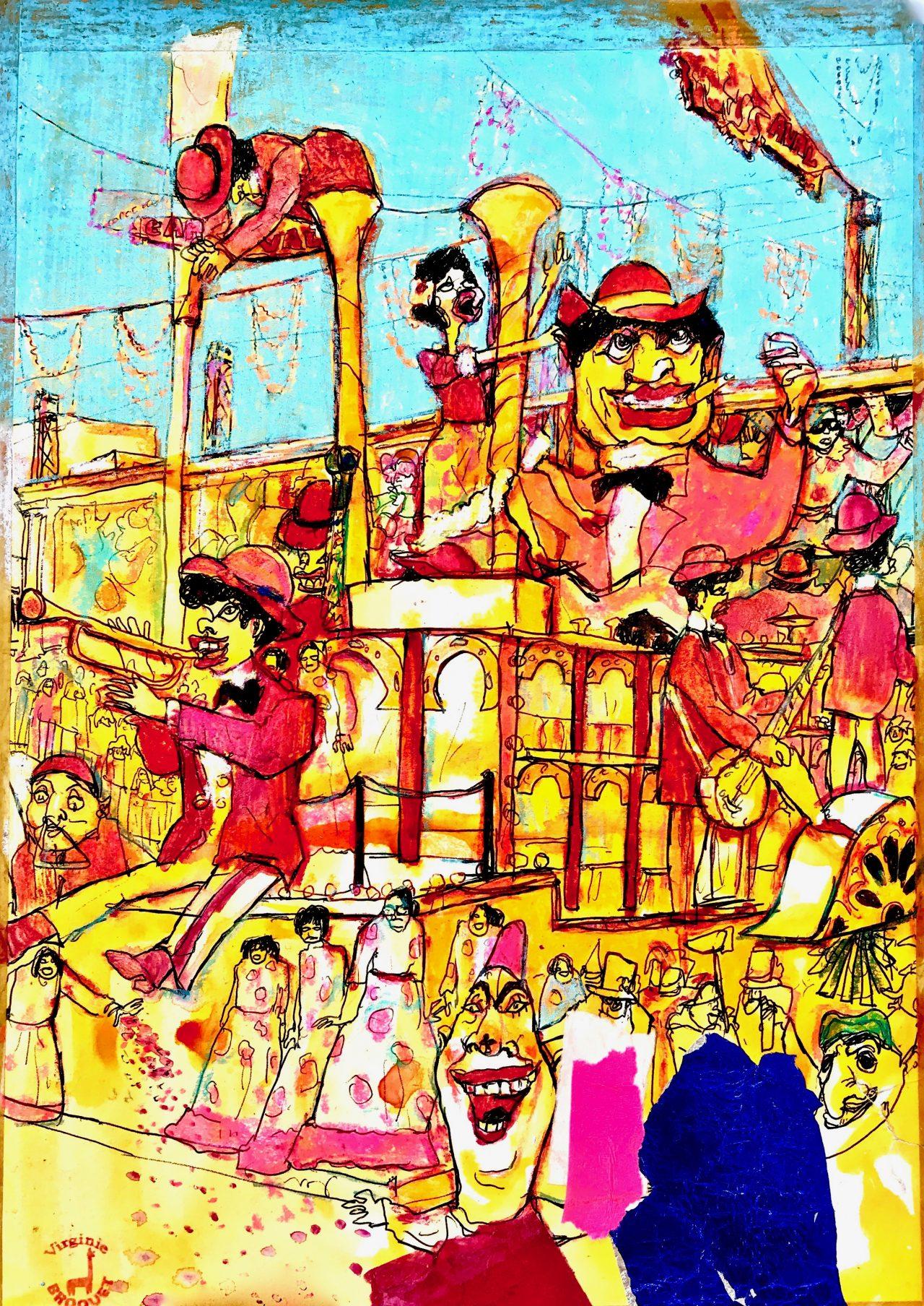 31 Carnaval de Nice, Char du Jazz, 2007