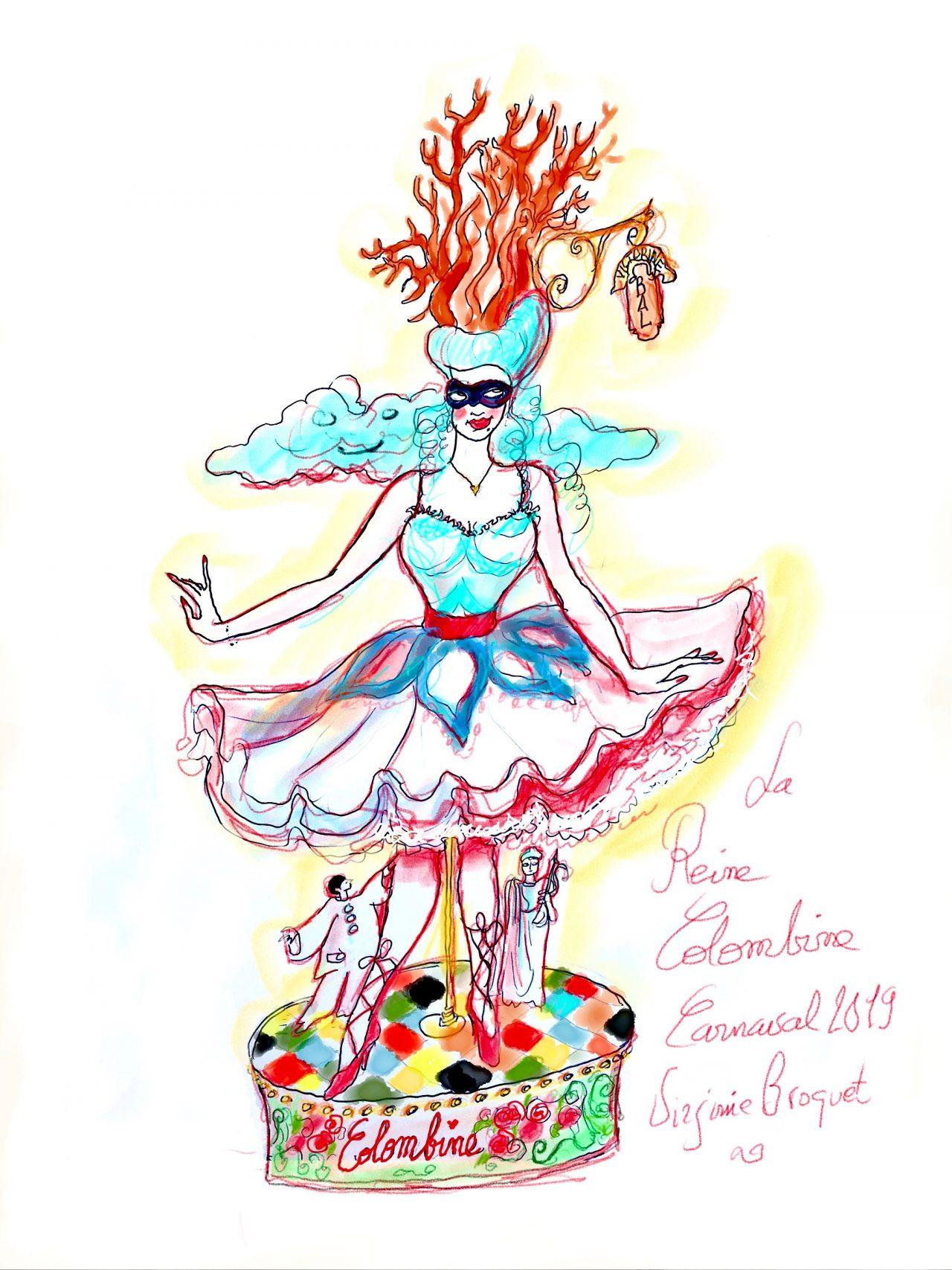 4 Reine du carnaval, 2019