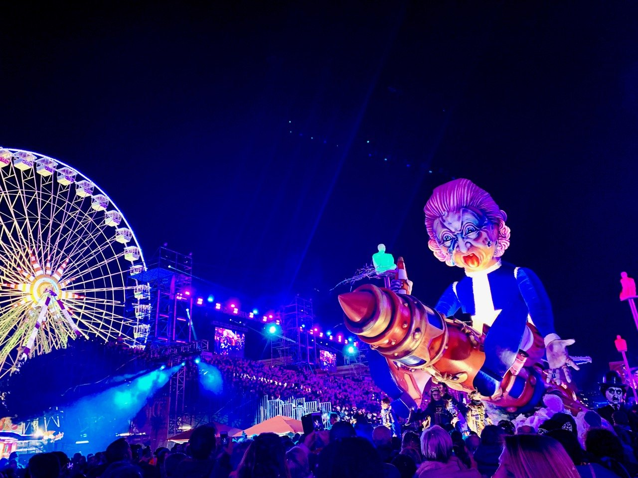 7 Carnavalon, carnaval de Nice, 2018